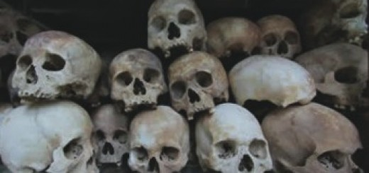 skulls at killing fields
