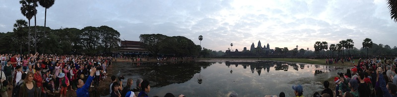 Angkor Wat at 6am