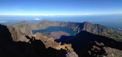 Mt Rinjani Summit Lombok feature
