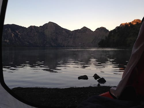 Rinjani-lake-camp