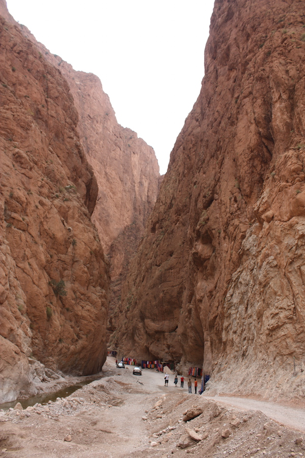 The Todgha Gorge - cliff-sided canyons carved by the Dades and Todgha river through the mountains
