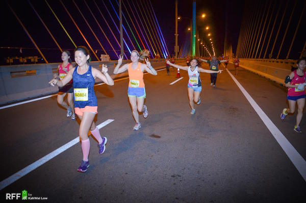 Penang Bridge International Marathon in Nov 2014
