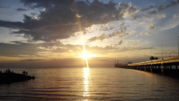 Sunrise at Penang 2nd Bridge