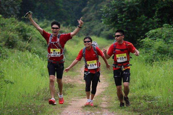 Adventure race green corridor