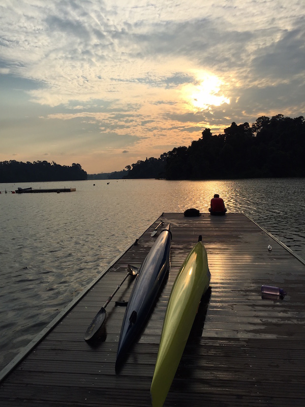 Macritchie kayak