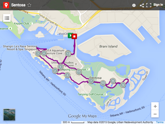 Where to run in singapore here are 10 best running routes sentosa map google gumiabroncs Gallery