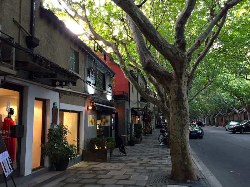 Walking through the artsy streets of Former French Concession