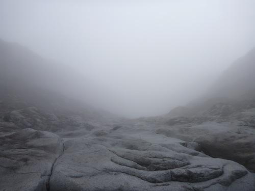 Navigating through thick fog