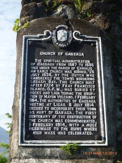 Church of Cagsawa