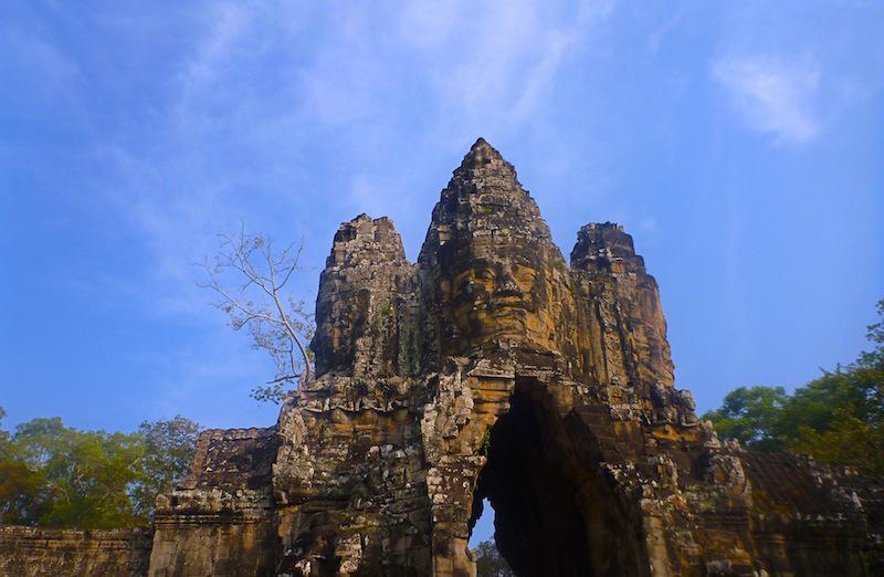 The gates of Angkor Thom