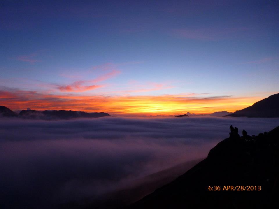 Sunrise at Mt Bromo