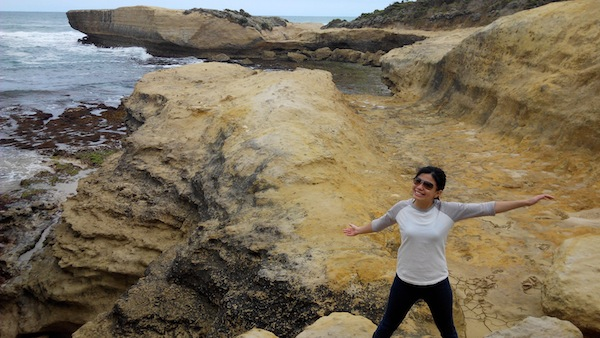 A memorable experience at the rocky shore