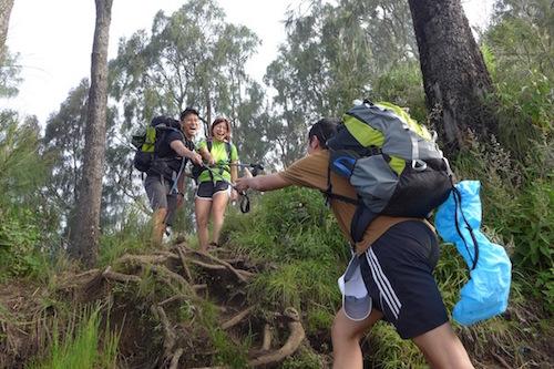 Rinjani-steep