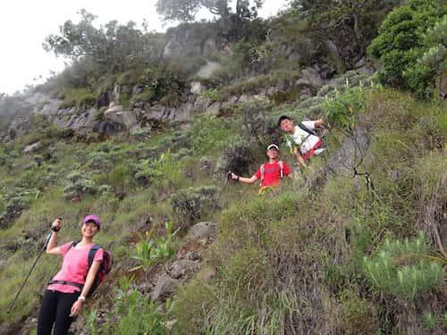 rinjani-hiking-down