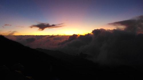 rinjani-sunset