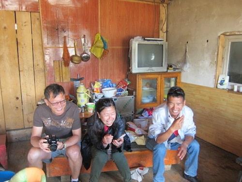 Tibetan-living-room