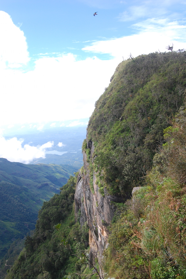 The dramatic 870m drop at World's End