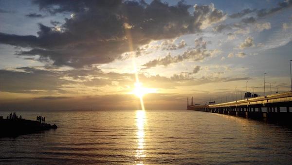 Sunrise at Penang 2nd Bridge