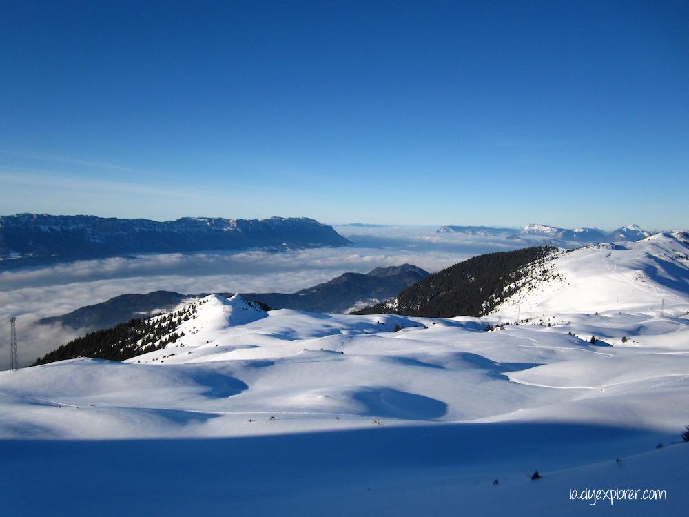 Les 7 Laux is a local secret for off-piste skiing