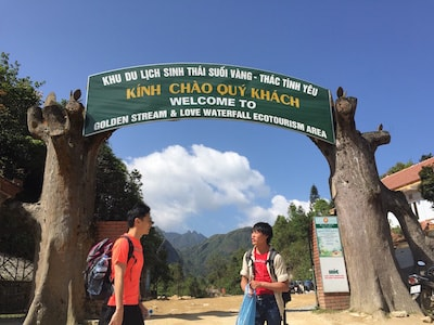 Mount Fansipan entrance