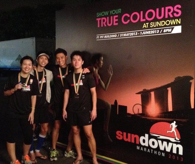 Completing my first ever marathon @ Sundown 2013