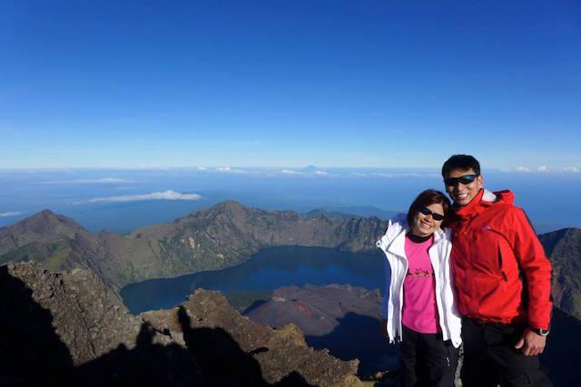 Summitting one of most challenging mountains in Southeast Asia @ Mt Rinjani 2014