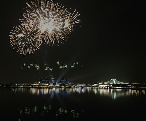 sportshub sea games closing - Garden By The Bay East Firework