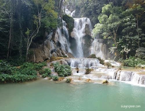 Koangxi Waterfall