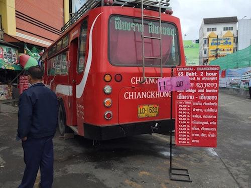 Chiang-Rai-to-Chiang-Khong-bus