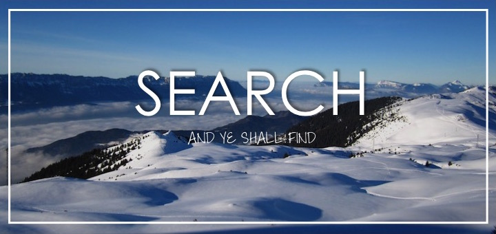 search-and-you-shall-find